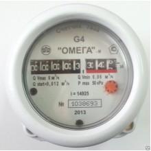 Счетчик газа роторный «Омега» G2,5; G4; G6