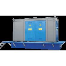 Комплектные трансформаторные подстанции киоскового типа тупиковые КТПТ