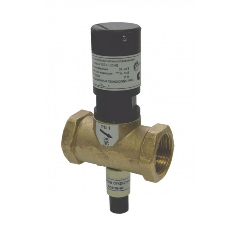 Запорные клапаны с электромагнитным п